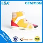 L&C H1169-Q88 bright color casual shoes lady casual shoes