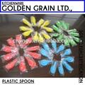 comestível plástico descartável colher chinesa