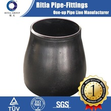seamless black steel pipe reducer dimensions
