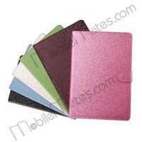 Diamond Pattern Case, Magnetic Flip Stand PC+PU Leather Case for iPad Mini / iPad Mini 2 Retina / iPad Mini 3