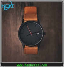 Vogue stylish slim style personalized watch with 316l steel case