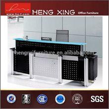 OEM top sell dark blue reception desk