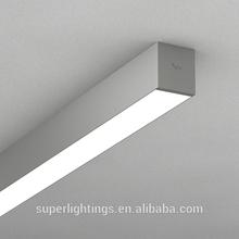 2x36W floresan ışık parçaları, çift t5 floresan tüp ışık parçaları