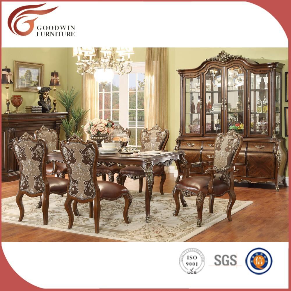 Muebles importados de china wa158 sets para sala comedor - Comedores antiguos de madera ...