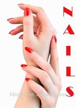 personalizado diseño de arte de uñas carteles para el salón