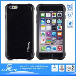 Accept paypal perfect combo plastic+tpu case for iphone 6 plus