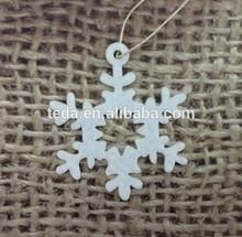 Christmas Tree Hanging Felt Decoration Pendant Snowflake Shape