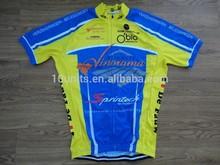 2015 China custom de impressão camisa de ciclismo original, Sublimada bike camisas