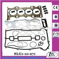 Auto Engine Parts 2.0 2.3 Original Full Gasket Set for Mazda 3 6 MPV 8LG1-10-271