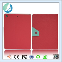 contrast Color Stand Leather case for ipad 4