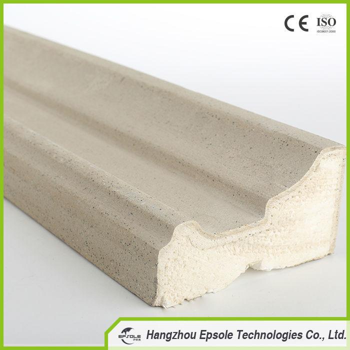 High Quality EPS Expandable Polystyrene Foam Decorative Cornice