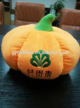 Newest artificial yellow felt pumpkin for halloween decoration