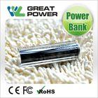 Cheap hot selling 2600mah battery power bank smartphone