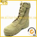 nos ejército de buena calidad con cremallera lateral baratos botas militares del desierto para los hombres
