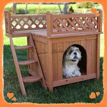 Fashion new design wooden custom cheap dog kennel outdoor