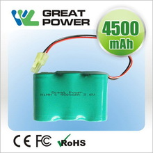 Contemporary eco friendly rechargeable nimh battery pack 5v