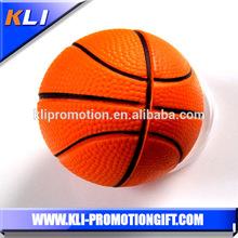 Antistress foam basketball pu squeezing basketball