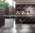 foshan atacadista metálico rústico telha cerâmica da parede de acabamento