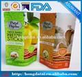 Snack embalagem pouch/saco plástico do alimento/sobremesa embalagens saco