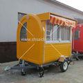 Carro de perros calientes para la venta/de comida rápida carro para la venta/quiosco de pizza