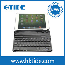 Li-Polymer Battery Aluminum Smart Cover Keyboard Tablet For Ipad Mini