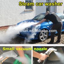 2015 CE no boiler 18 bar 2 hoses mobile diesel steam cleaner/steam car wash los angeles
