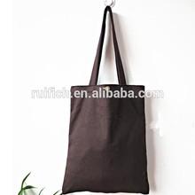 cheap canvas tote school bag for teens girls shoulder strap book bag
