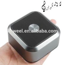 Aluminium Alloy 5W Loudspeakers Bluetooth Speaker Portable Stereo Speaker, Support Hands Free Call(Black)