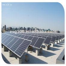 high efficiency 250W flexible solar panel for solar system