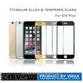 Atacado tamanho completo cobrir 0.3mm 9h celular liga de alumínio vidro temperado protetor de tela para iphone 6 4.7''