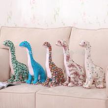 super lifelike stuffed Chinese characteristic cloth art colourful plush dinosaur