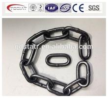 DIN 5685A/C short/long galvanized welded steel link chain