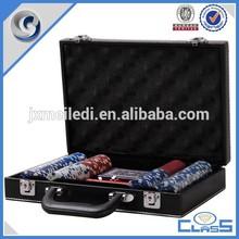 CQ professional casio poker set in PU leather case