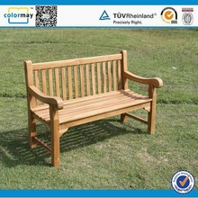 Teak Outdoor Long Wood Bench Outdoor Garden Benches for Wholesale