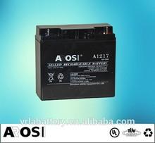 12 Volt 10Ah AGM VRLA Battery Rechargeable dry Battery 12v for UPS