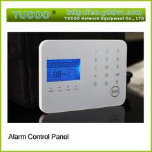 GSM SIM Card Control panel wireless digital home security alarm system