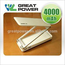 Excellent quality eco friendly logo external portable power bank