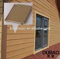 Hochbau modernes haus holz-kunststoff-verbundmaterial außen holzverkleidung