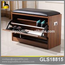 Walnut shoe rack designs wood diy cabinet combination storage rack