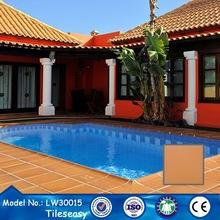 square non slip grey granite glazed 300x300 swimming pool tile
