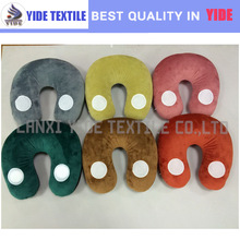 2015 new candy color micro beads neck pillow travel pillow with speaker