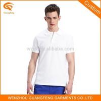 Cotton Plain White Polo T-Shirt, Unisex Polo Shirt, Cotton/Polyester Polo Shirt