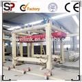 El peso ligero bloque aac línea de producción, bloque de hormigón que hace la máquina, aac equipos de producción!