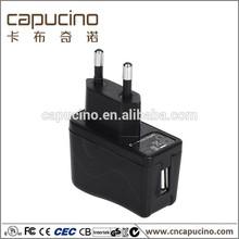 Reached CE,FCC,C-UL,PSE,CB 5V 2.1A usb & ac/dc power supply for led light.