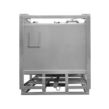 Hot sale 1000L rectangular stainless steel oil storage tank