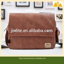 hot selling top quality leather man shoulder bag