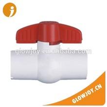 (GJ-X9001)Glowjoy U-PVC long handle simple valve, good quality pvc butterfly valve,hydraulic valve