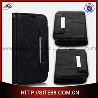 Wallet Card Holder leather case cover For LG L70