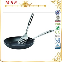 MSF kitchenware appliance aluminum wok with ss handle MSF-L6217