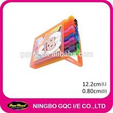 12 pcs a set water color marker pen, Plastic box packing